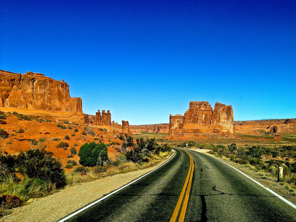 Road to Arches, Moab Utah